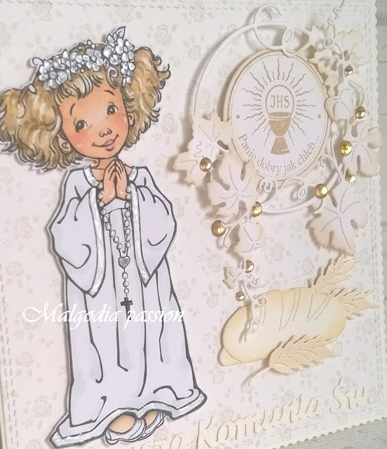 Pierwsza Komunia Św. dziewczynki – kartki