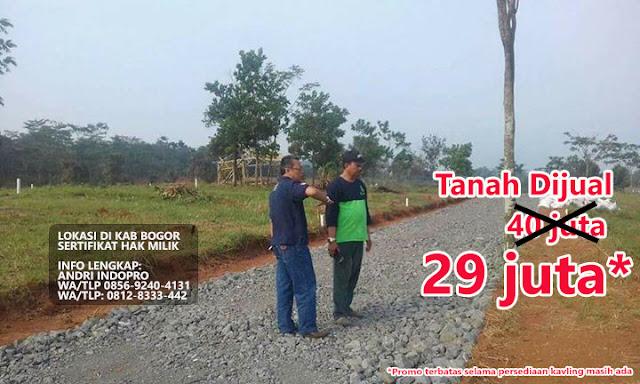 Kavling Tanjungsari Penipun, kampung kurma penipuan, Lantaburo Propertindo