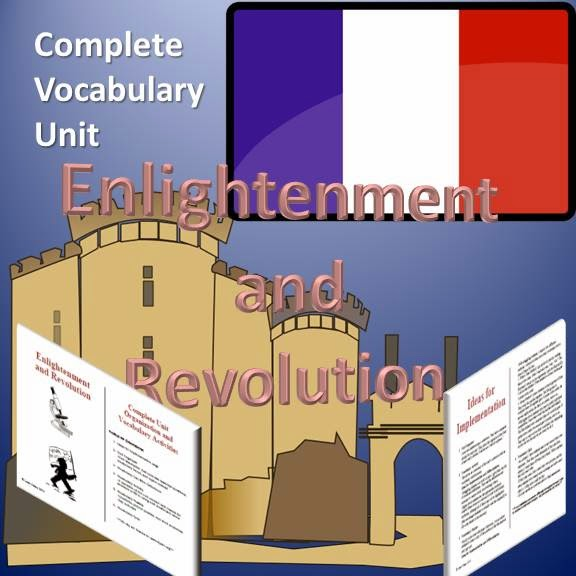 Enlightenment and Revolution Complete Vocabulary Unit