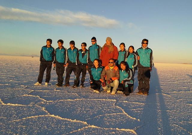 Gruppenbild Abi Ausflug 2016