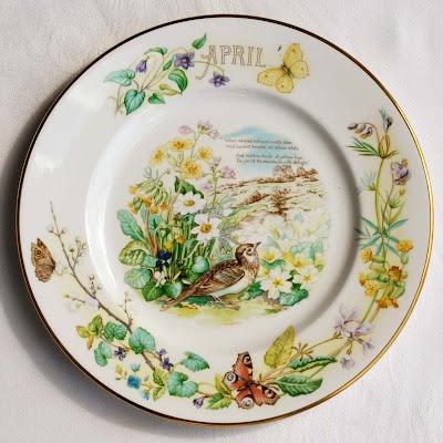 Caverswall China April plate by Selep Imaging