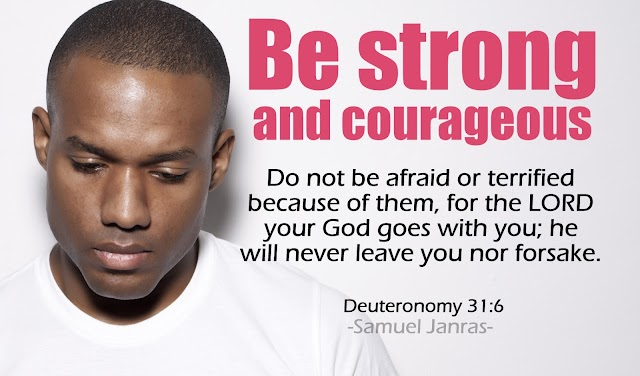 Strong Courageous Bible Quotes