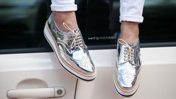 Sapato Cromado