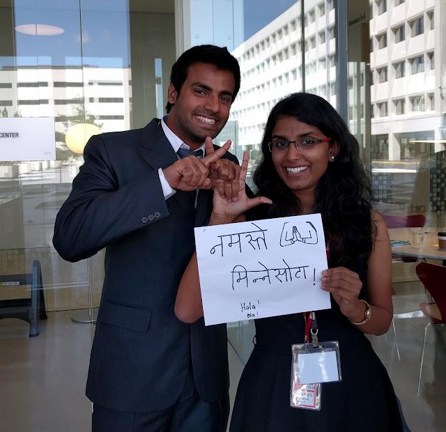 India Winners - Anunay Arora and Jagruti Vojjala from XLRI-