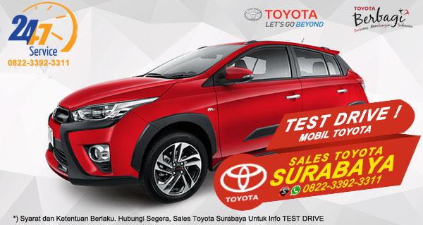 Info Test Drive Toyota Yaris Heykers Surabaya