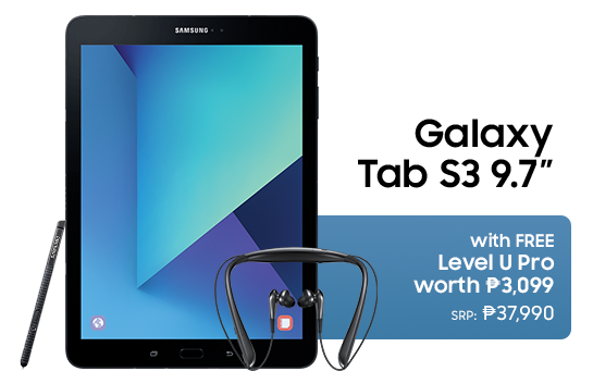 Great Samsung Sale(GSS) 2017 Galaxy Tab S3