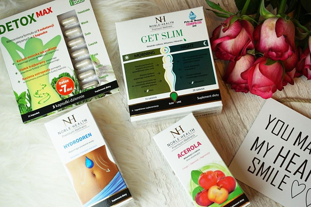 Suplementy diety Noble Health - w zdrowym ciele zdrowy duch!