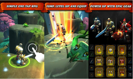 Warriors Jump Attack MOD Unlimited All Unlocked Keys New Updated Free Download