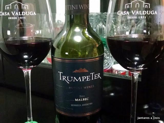Vinho Tinto Malbec Trumpeter 2012