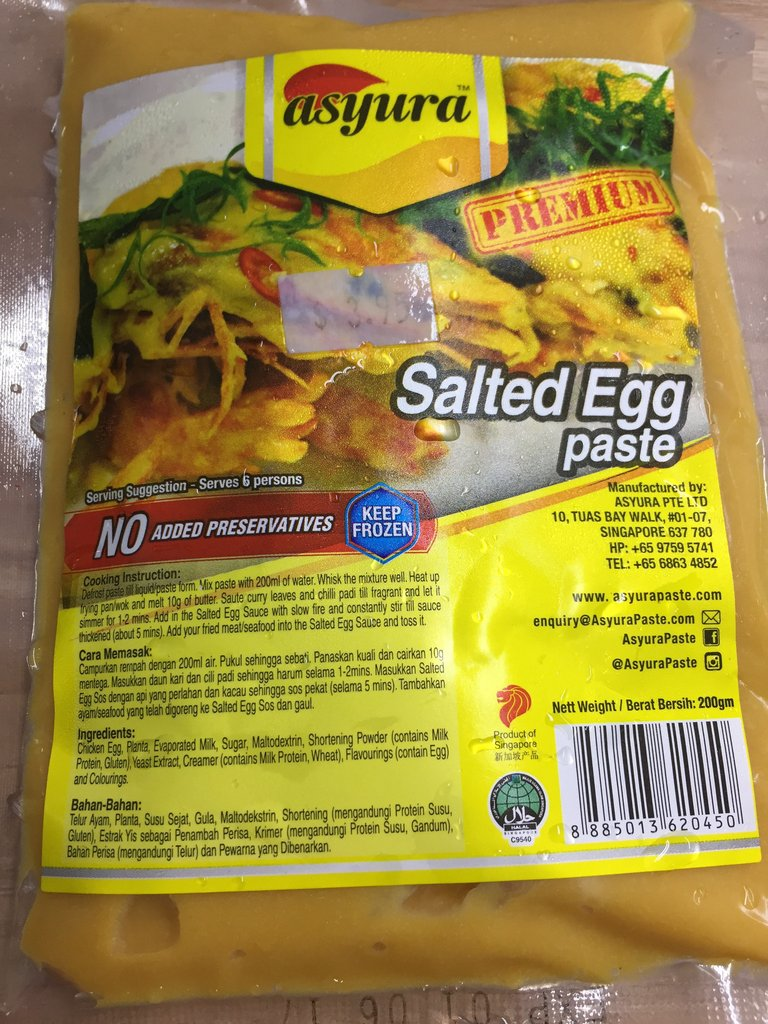 how to make egg paste