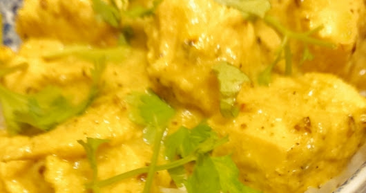 Soul Food on A Cool Night: Chicken Korma