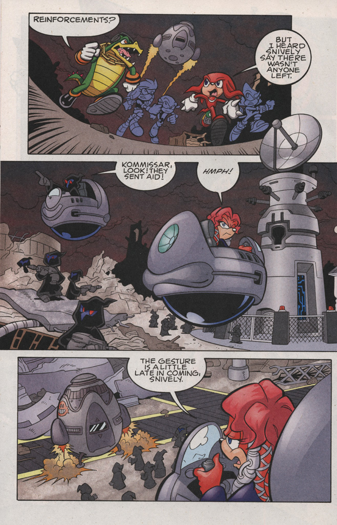 Read online Sonic The Hedgehog comic -  Issue #189 - 26