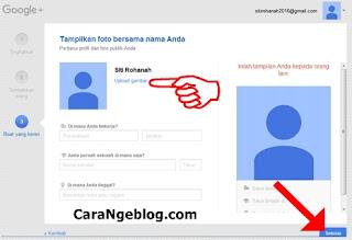 Menampilkan Foto di Google+