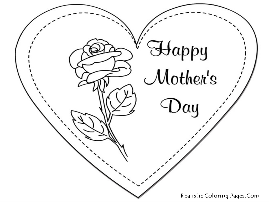 Printable Mothers Day Coloring