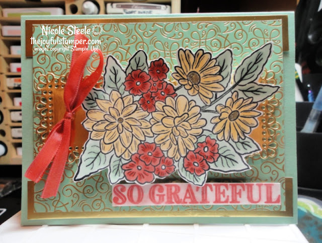 Ornate Garden Suite Bundle Project #3 | Stampin' Up! | designed by Nicole Steele The Joyful Stamper