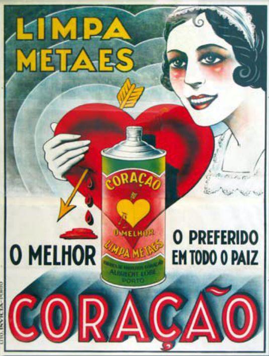 Propaganda portuguesa de limpador de metais veiculada nos anos 30