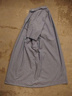 "TOUJOURS ""Open Back Yolk Skipper Shirt Dress"""