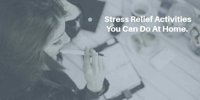 easy ways to relief stress and aniety