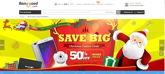 promozione banggood.com per natale