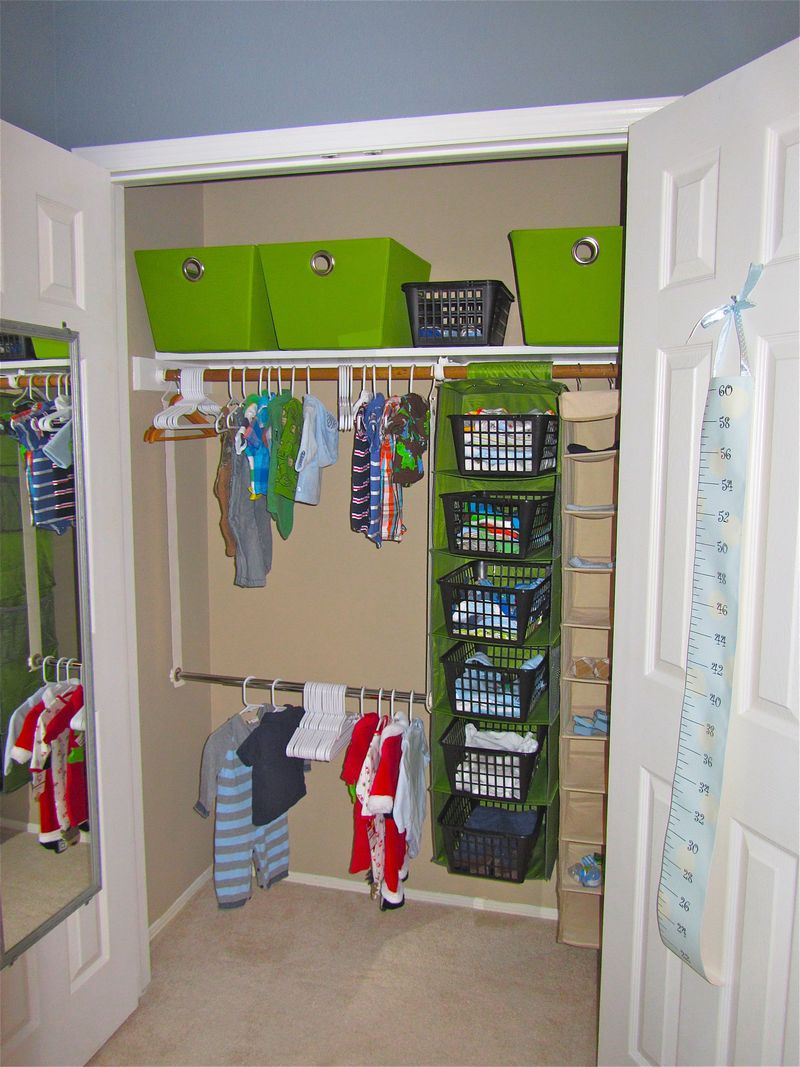 Kids Bedroom Closet Ideas