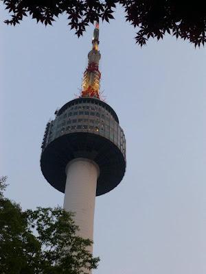 La Tour N de Séoul Corée du Sud