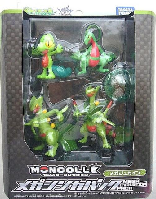 Takara Tomy Monster Collection MONCOLLE Mega Sceptile Evolution pack