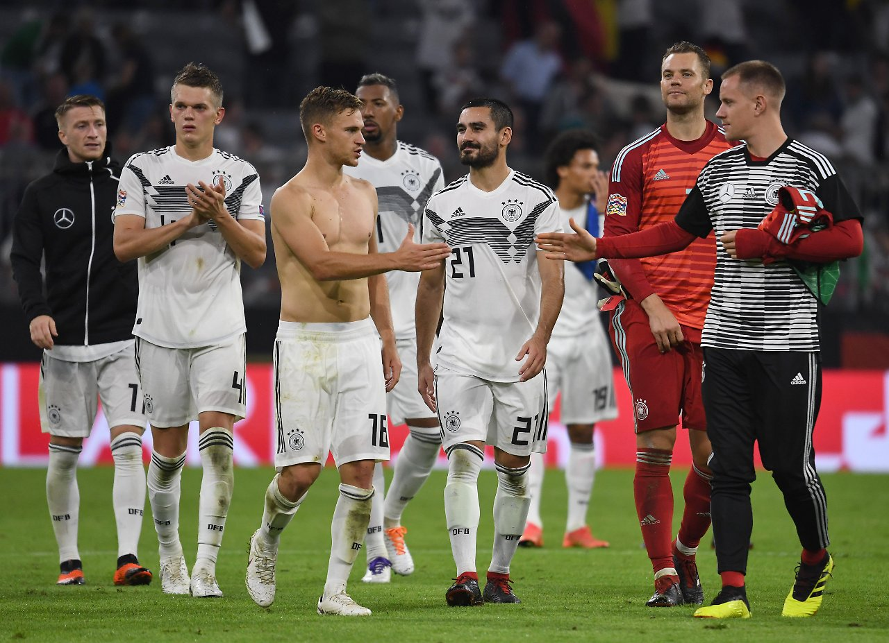 0cd64166c The Germany 2018 jersey without the golden 2014 World Cup winners badge is  not available to buy yet. The France 2 Star jersey with the badge is also  not ...