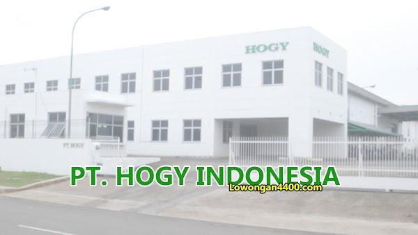 Lowongan PT Hogy Indonesia Juni 2020