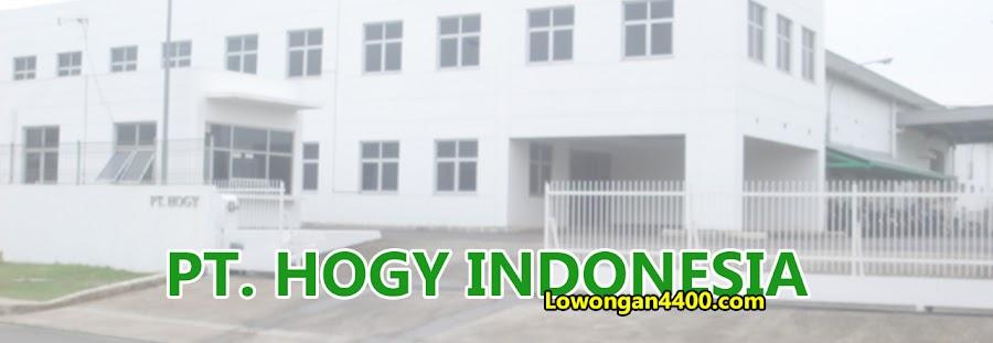 Lowongan PT Hogy Indonesia April 2021