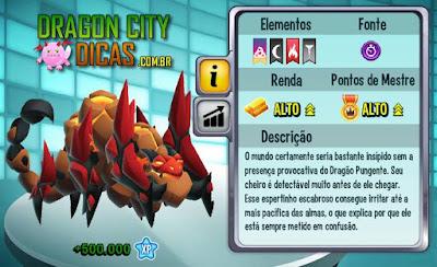 Dragão Pungente - Informações