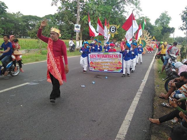 Foto Terbaru Karnaval 2016 SDN mulyoagung 1 kecamatan singgahan