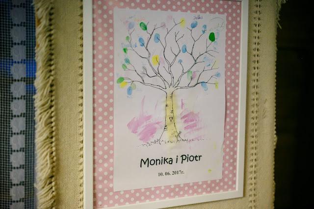 personalizacja wesela, tablica na odciski, ślubne drzewo, odciski ślubne, pamiątka ślubna, atrakcje weselne