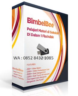 Garansi Produk Flasdisk BimbelBee sd smp sma pustaka lebah multimedia