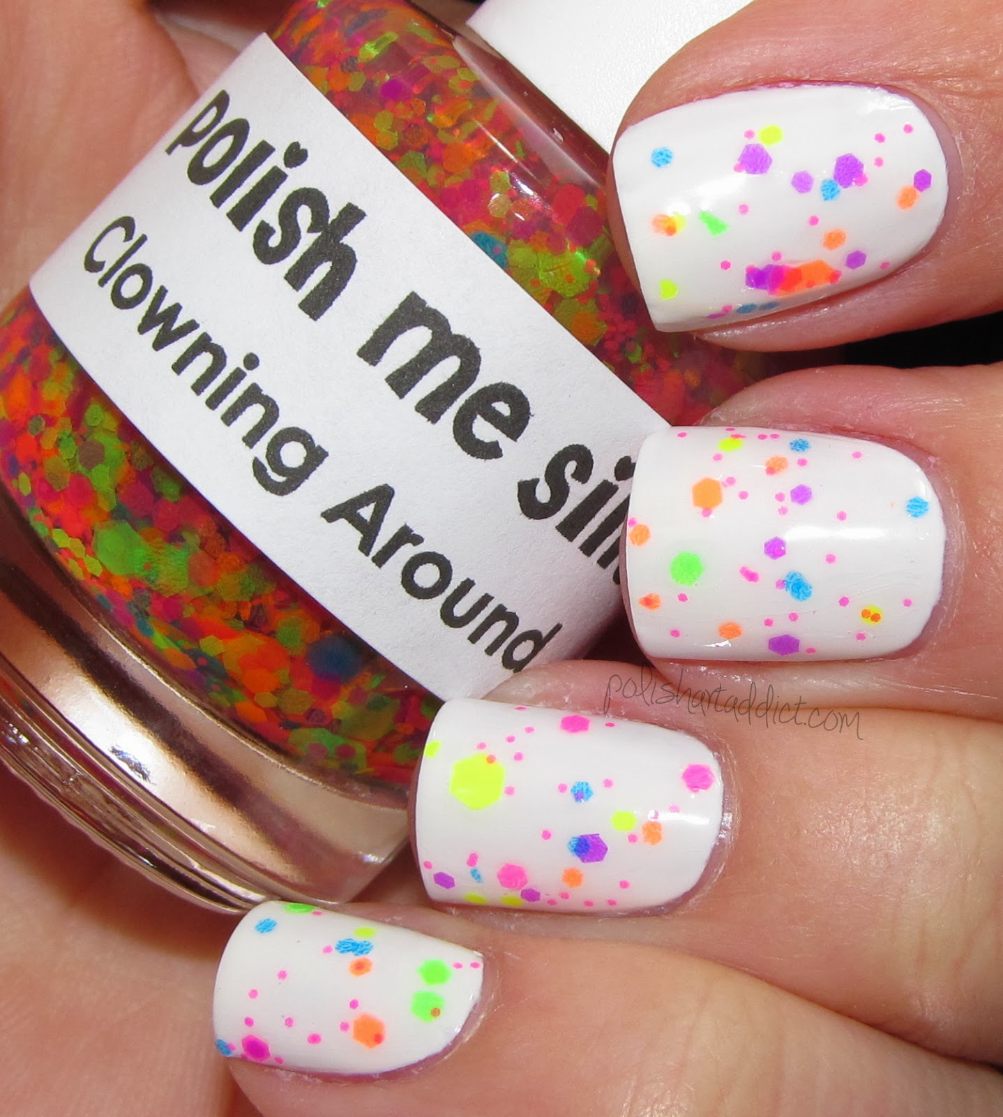 Lush Lacquer/Polish Me Silly - Clowning Around