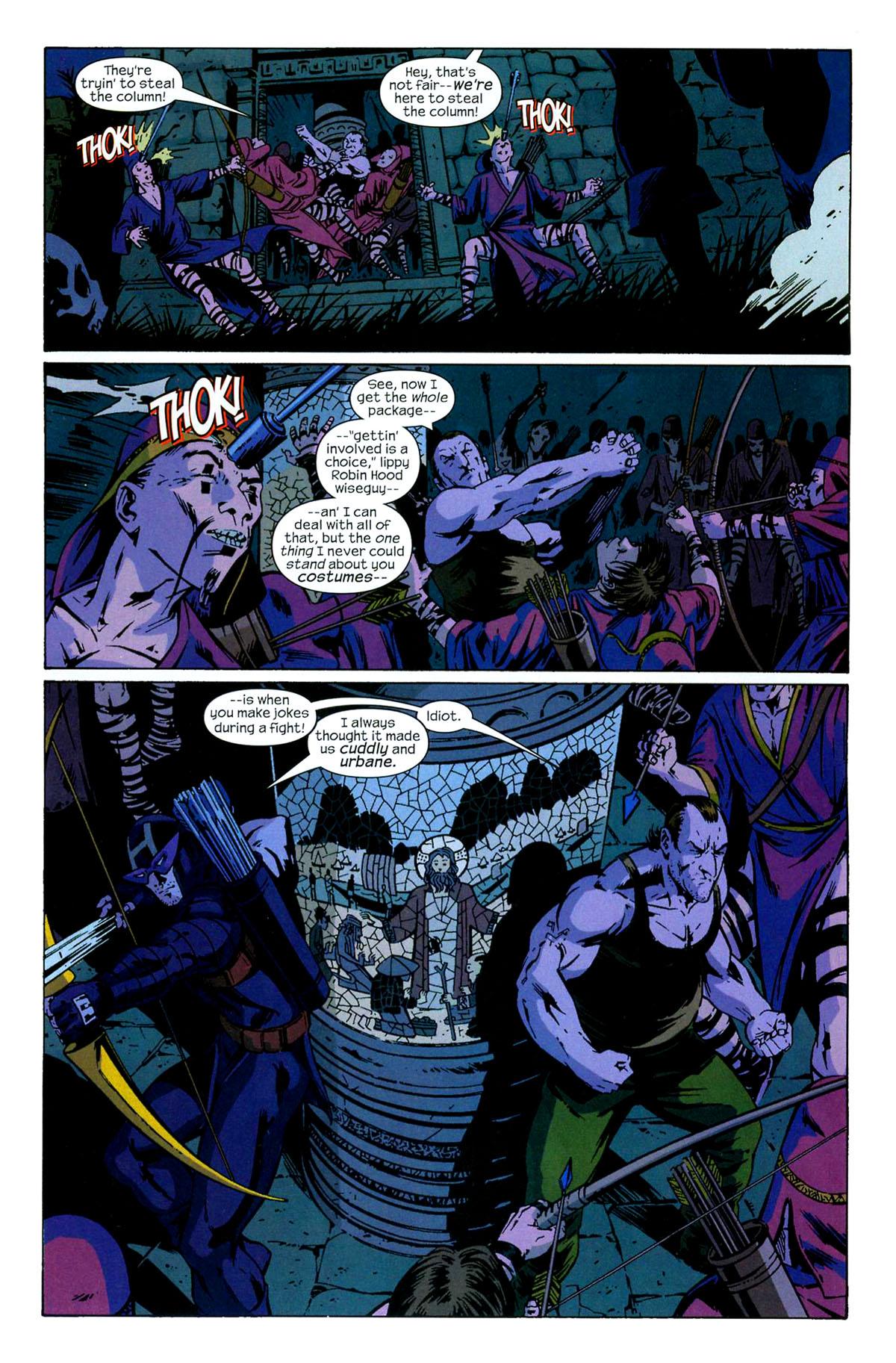 Hawkeye (2003) Issue #6 #6 - English 10