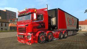 Carls Scania R&S v 9.0 truck mod