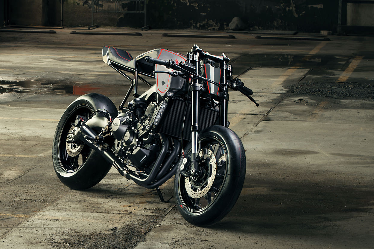 Racing Caf U00e8  Yamaha Xsr 900 By Diamond Atelier
