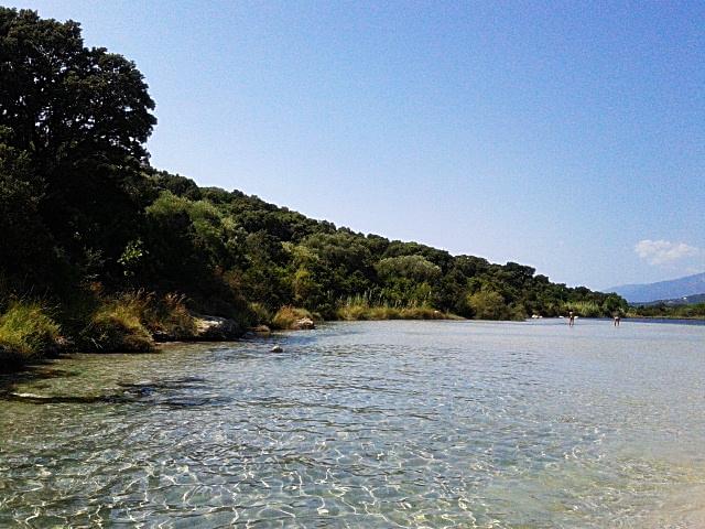 Eine Bucht auf Korsika