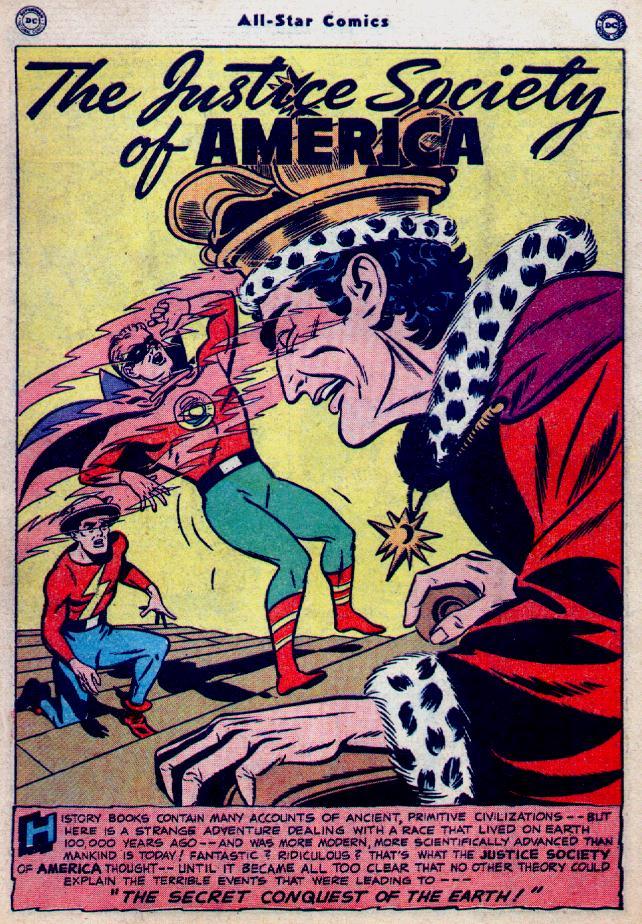 Read online All-Star Comics comic -  Issue #52 - 2