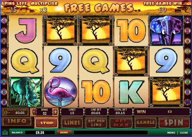 The Amazing Safari Slot Game | SCR888 Online Casino | Online Casino Malaysia