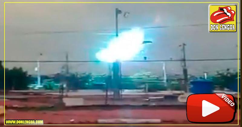 En Maracaibo siguen las explosiones eléctricas y el pueblo cada vez peor