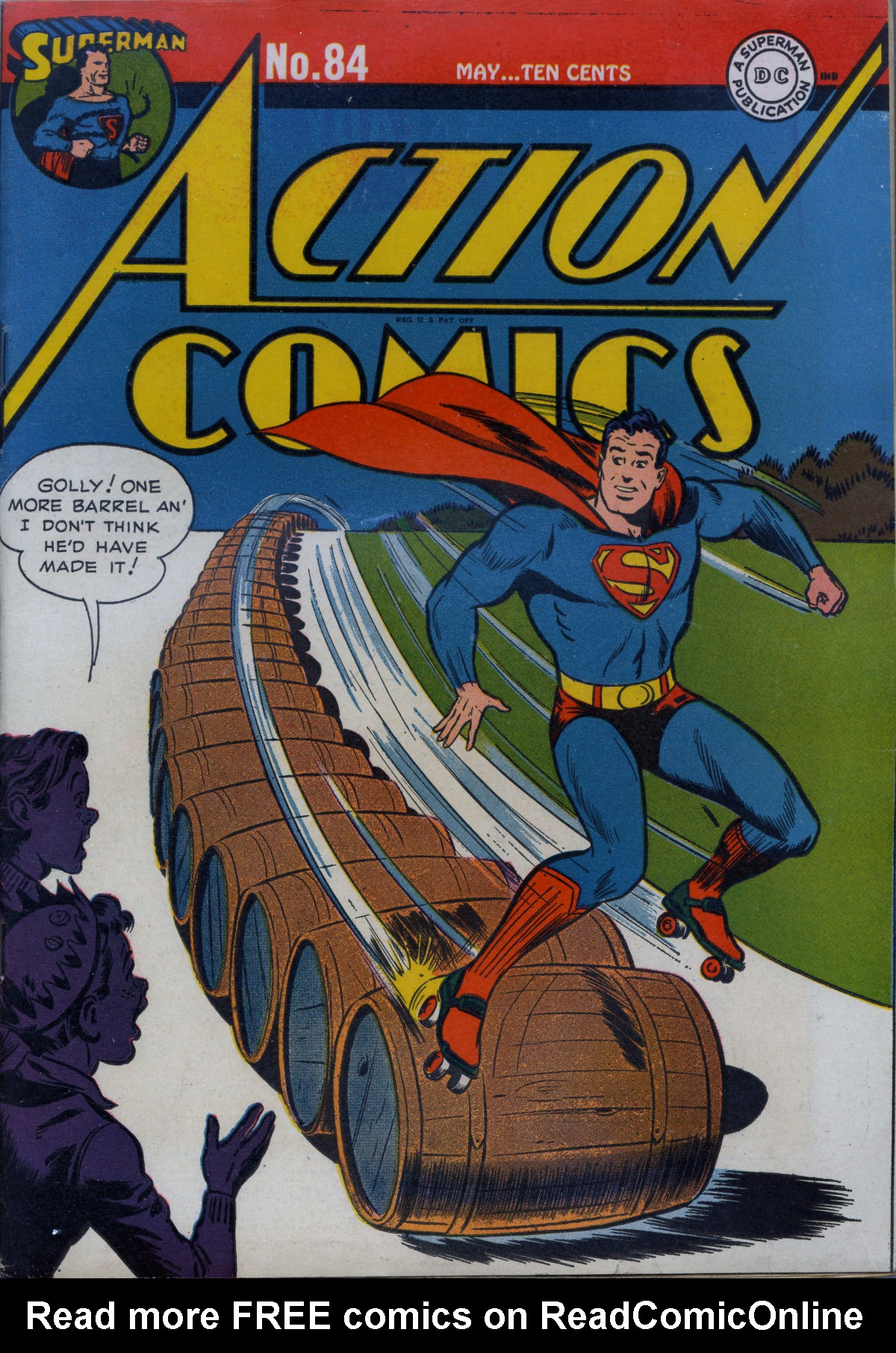 Read online Action Comics (1938) comic -  Issue #84 - 2