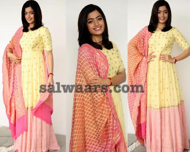 Rashmika Mandanna Floor Length Salwar