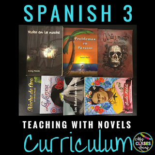 Curriculum Year 6 - Teaching Spanish with Novels - Spanish 3