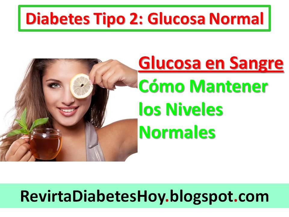 Como Mantener el Nivel de Glucosa en Sangre: estabilizar