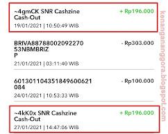 cara nuyul aplikasi cashzine