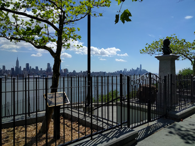 Hamilton Burr Dueling Grounds in Weehawken, New Jersey