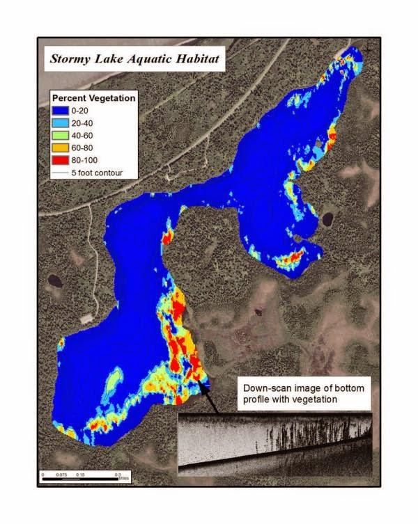 Kenai, USFWS, Aquatic Vegetation, BioBase, Lowrance