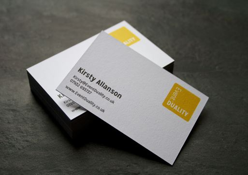 make business cards on word