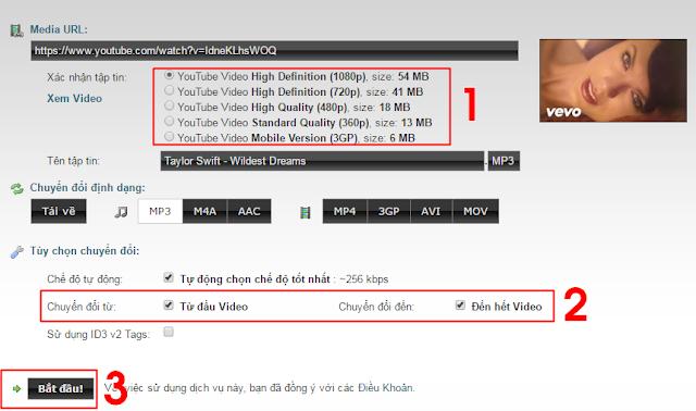 Cách tải nhạc MP3 (audio) từ video trên Youtube 2
